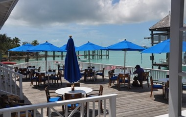Restaurant at Valentines Resort Bahamas
