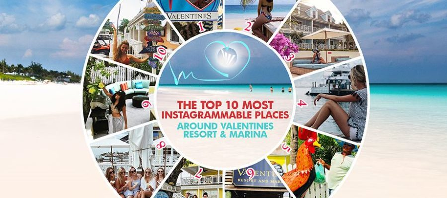 Top Instagrammable Places at Valentines Resort Harbour Island