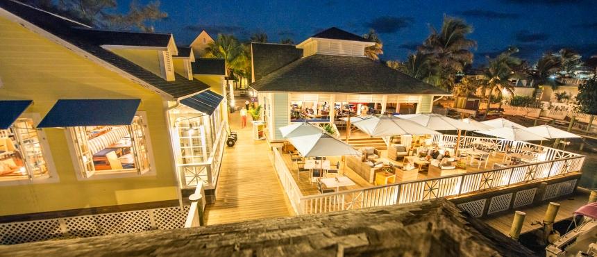 Restaurants at Valentines Resort and Marina, Bahamas